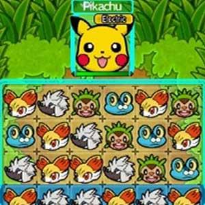 Pokemon Link Battle Nintendo 3DS Puzzle