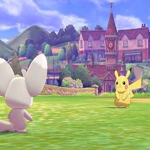 Pokemon Shield Nintendo Switch Minccino Pikachu