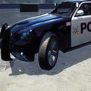 U.S. police vehicle