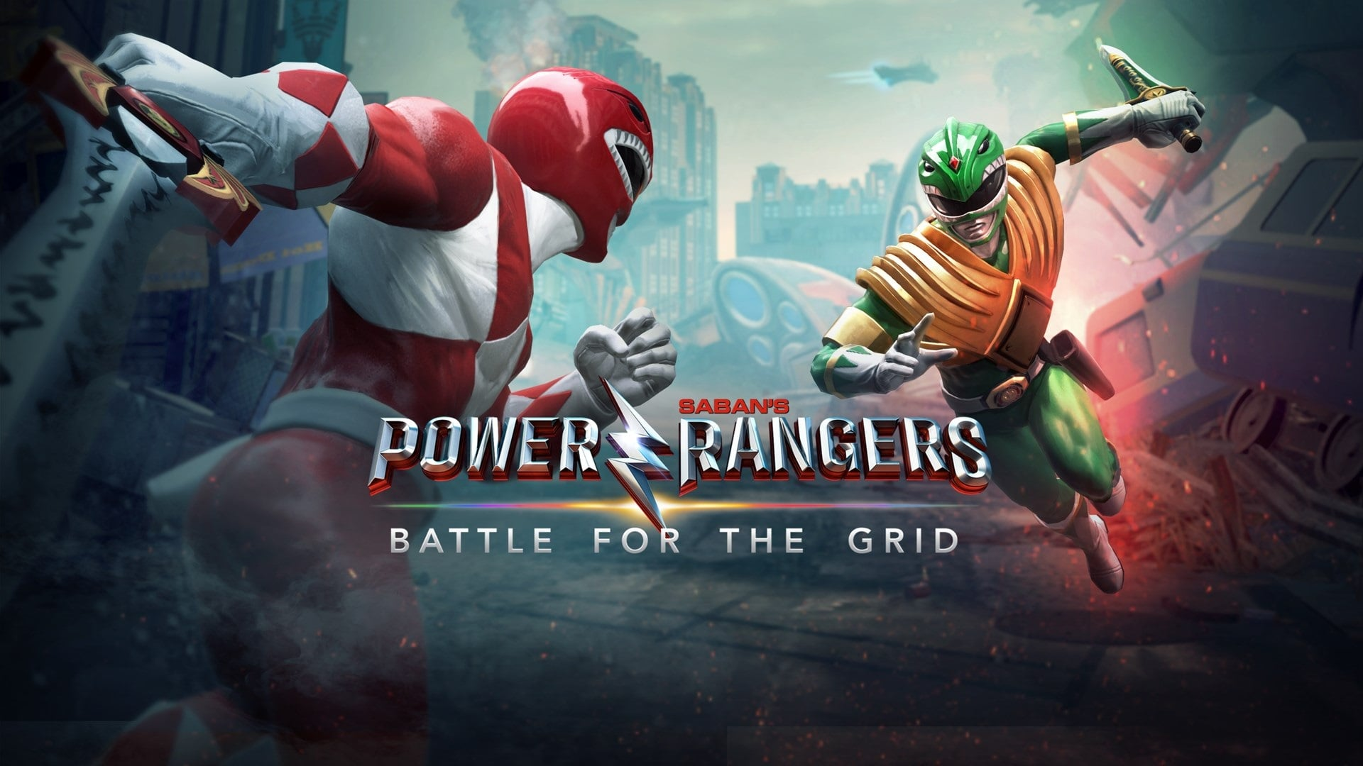 Play Out Your Dream Ranger Battles In Power Rangers Battle For The