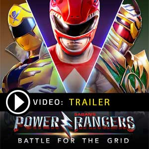 Buy Power Rangers Battle for the Grid CD KEY Compare Prices