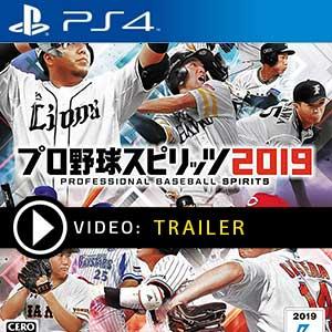 Pro Baseball Spirits 2019 PS4 Prices Digital or Box Edition