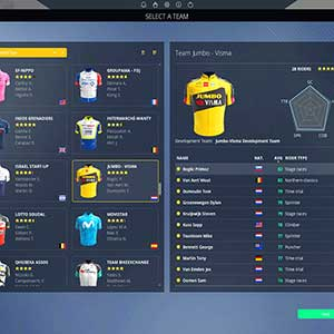 Pro Cycling Manager 2021 Team Select