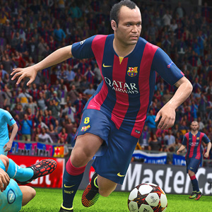 Pro Evolution Soccer 2015 PS4 Gameplay Screenshot