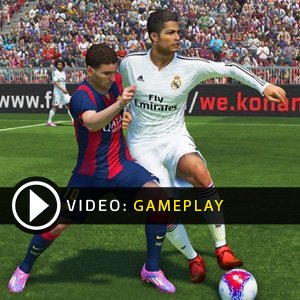 Pro Evolution Soccer 2015 PS4 Gameplay Video