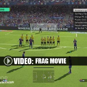 Pro Evolution Soccer 2018 Frag Movie