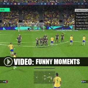 Pro Evolution Soccer 2018 Funny Moments