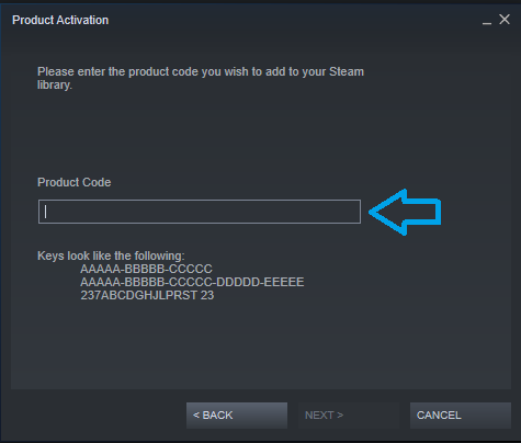 Steam Product Activation 3