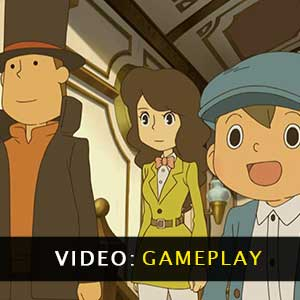 Professor Layton and the Azran Legacy Gameplay Video