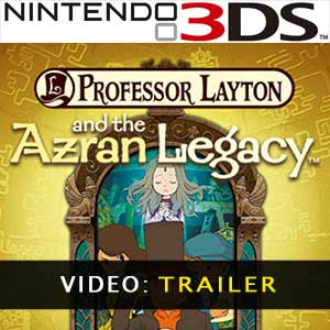 Professor Layton and the Azran Legacy Nintendo 3DS Prices Digital or Box Edition