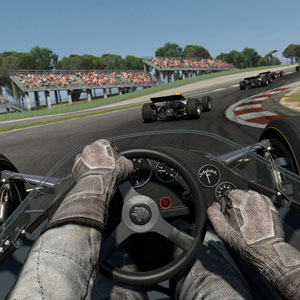 Project Cars First Person View