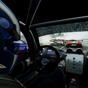 Project Cars Race Car Driver