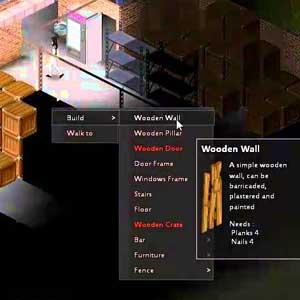 Project Zomboid Wooden Wall