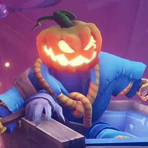 Pumpkin Jack Mine Cart