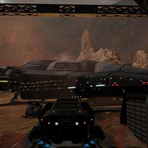 Quake 4 - Spaceship