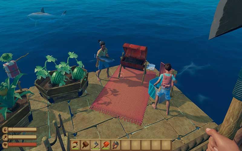 raft pc cheats
