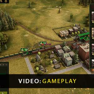 Railroad Corporation Deluxe Gameplay Video