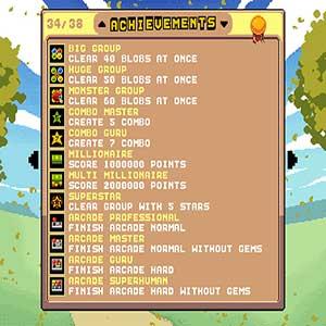 list of achievements