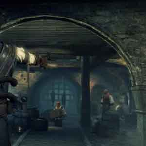 Screenshot: Christopher Raven in a Pirate Tavern