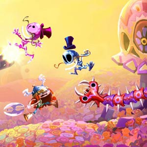 Rayman Legends PS4 Battle