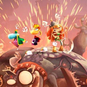 Rayman Legends PS4 Characters