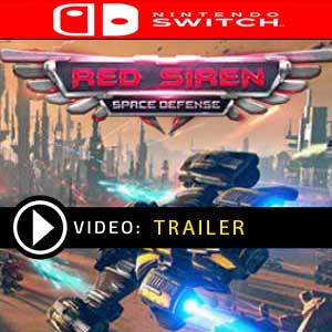 Red Siren Space Defense Nintendo Switch Prices Digital or Box Edition