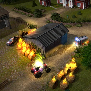 Rescue 2: Everyday Heroes - Burning Barn