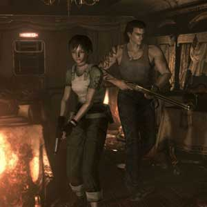 Resident Evil 0 HD Characters