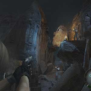 Resident Evil 4 battles