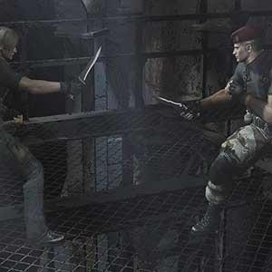 Resident Evil 4 rescue