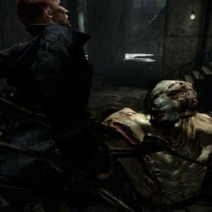 Resident Evil PS4 Battle