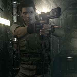 Resident Evil HD Chris Redfield