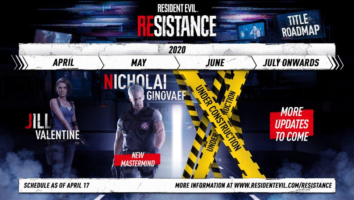 Resident Evil Resistance Roadmap