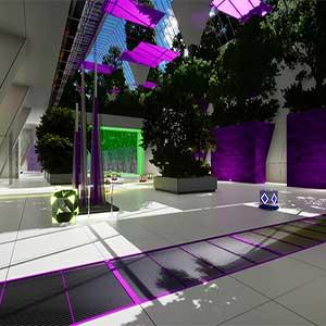 futuristic setting