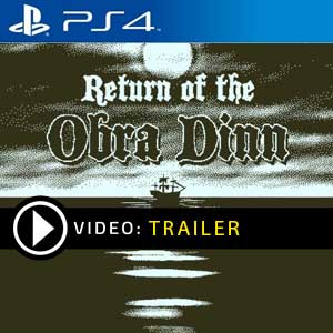 Return of the Obra Dinn PS4 Prices Digital or Box Edition
