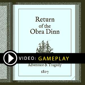 Return of the Obra Dinn Gameplay Video