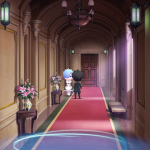 ReZERO -Starting Life in Another World- The Prophecy of the Throne - East Hallway