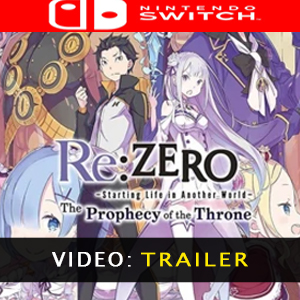 ReZERO -Starting Life in Another World- The Prophecy of the Throne Video Trailer