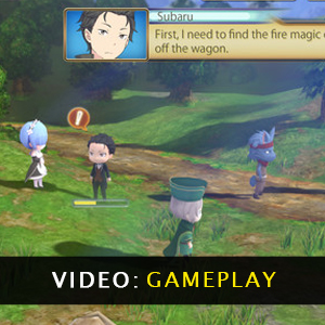 ReZERO -Starting Life in Another World- The Prophecy of the Throne Gameplay Video