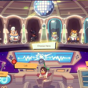 Rhythm Fighter menu