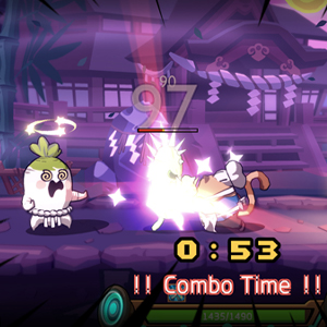 Rhythm Fighter combo time