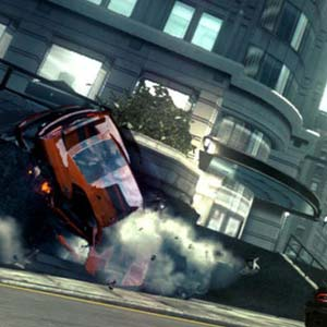 Ridge Racer Unbounded - Crash