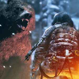 Rise of the Tomb Raider Xbox One - Wild Bear Encounter