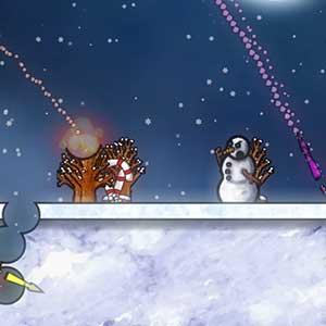Snow man war