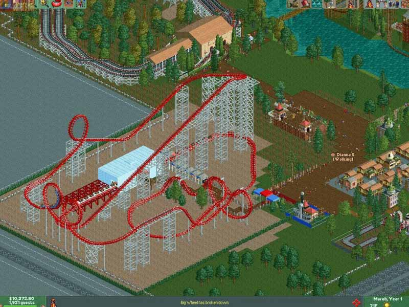 Buy RollerCoaster Tycoon 2 Triple Thrill Pack CD KEY Compare