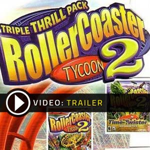 Buy RollerCoaster Tycoon 2 Triple Thrill Pack CD Key Compare Prices