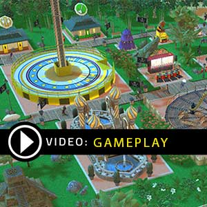 RollerCoaster Tycoon Adventures Gameplay Video