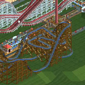 Rollercoaster Tycoon Deluxe -  Rollercoaster