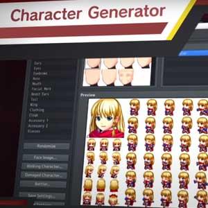 RPG Maker MZ character generator
