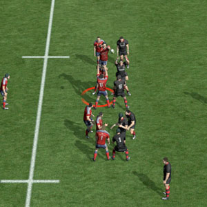 Rugby 15 Xbox One Player Select